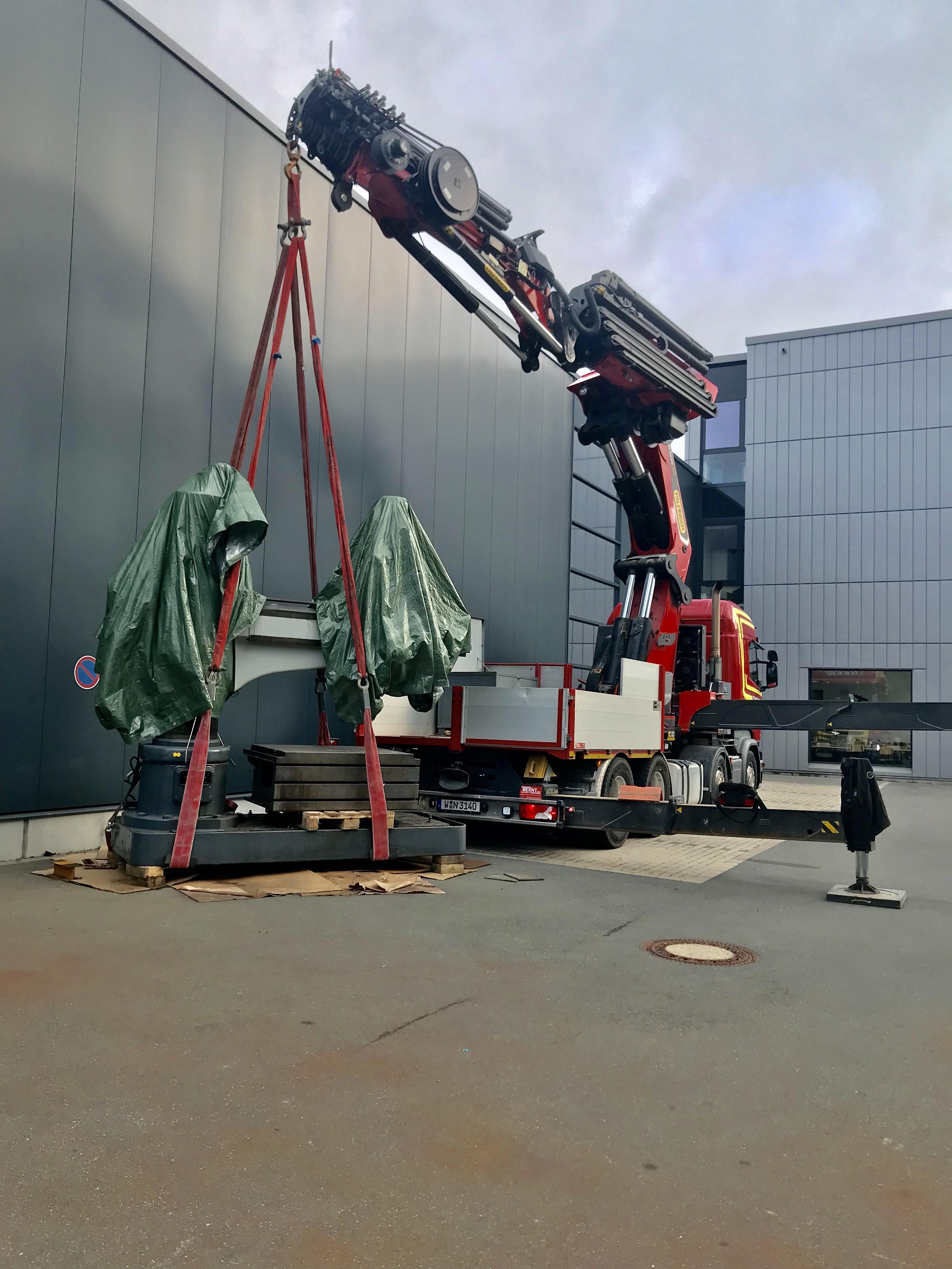 Grimmert-Recycling - Maschinentransport |Zerlegung und Transport von Industrieanlagen