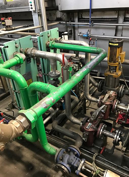 Grimmert-Recycling - Abbruch und Demonatge | Demontage einer industriellen Maschine